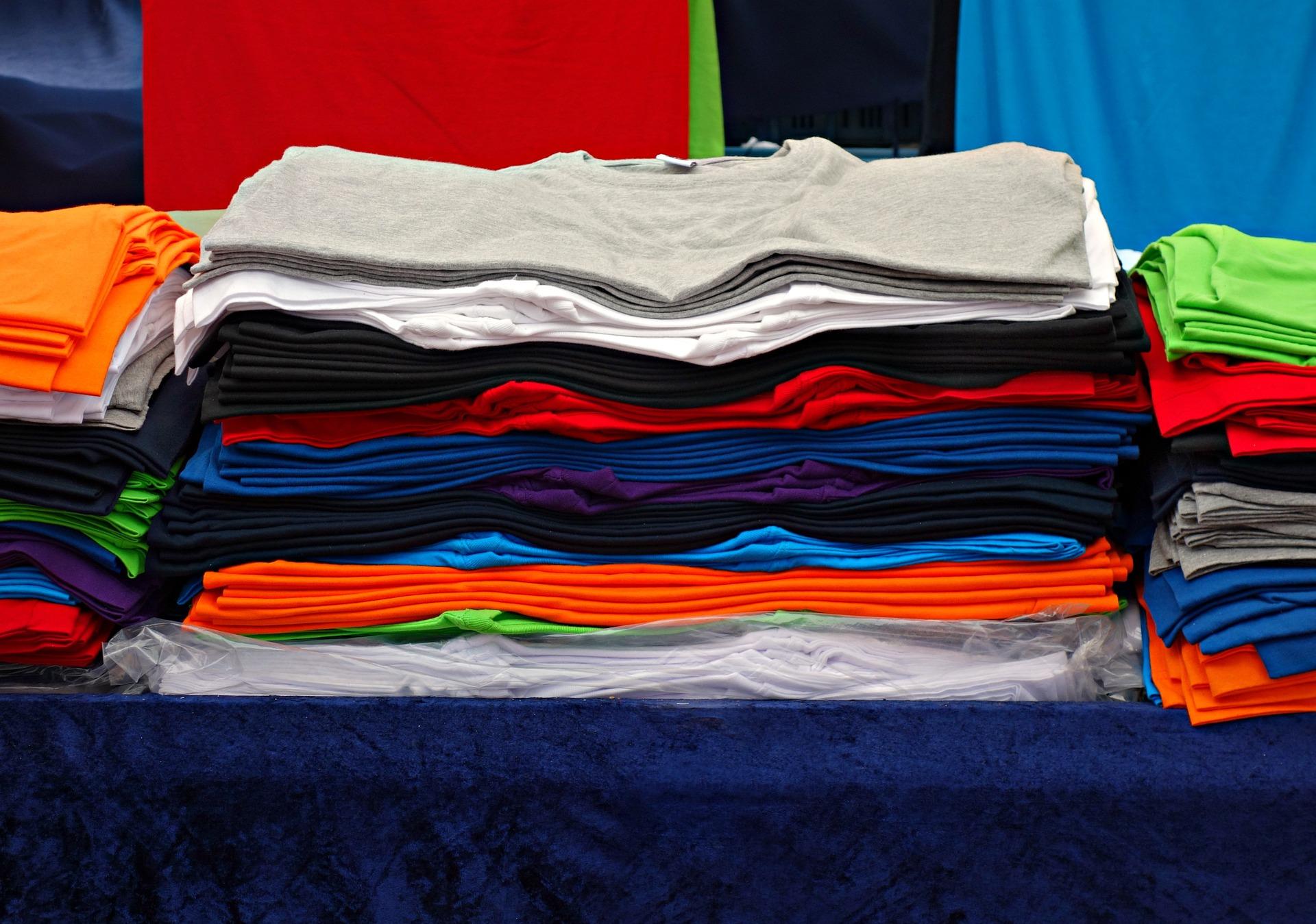 Business mit T-Shirts